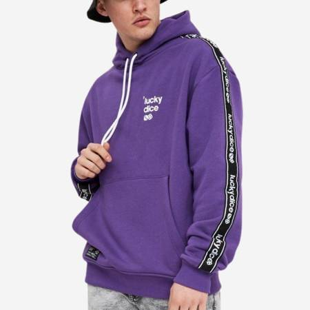 Bluza Lucky Dice Hoodie Tape #LDAWL Violet